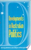 Developments in Australian Politics