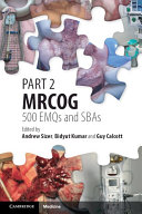 Part 2 MRCOG  500 EMQs and SBAs