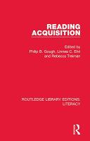 Reading Acquisition Pdf/ePub eBook