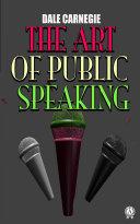 The Art of Public Speaking [Pdf/ePub] eBook