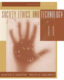 Society Ethics And Technology Book PDF