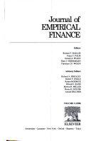 Journal EMPIRICAL FINANCE