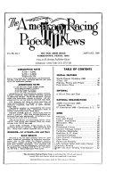 The American Racing Pigeon News