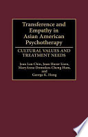 Transference and Empathy in Asian American Psychotherapy Book