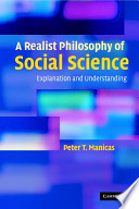 A Realist Philosophy of Social Science