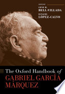 The Oxford Handbook of Gabriel Garc  a M  rquez