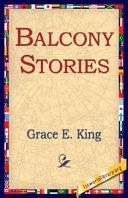 Balcony Stories Pdf/ePub eBook