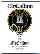 The Clan McCallum  Kinder Huntsinger