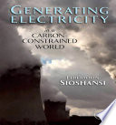 Generating Electricity in a Carbon Constrained World
