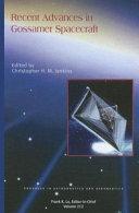 Recent Advances in Gossamer Spacecraft Book
