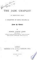 The Jade Chaplet in Twenty four Beads