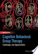 Cognitive Behavioral Group Therapy Book