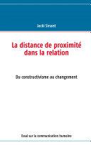 La distance de proximité dans la relation