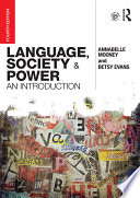 Language  Society and Power Book
