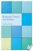 Rational Choice and Politics