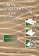 Cover of Learn Dewey Decimal Classification (Edition 23) International Edition