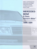Mercedes Benz E class Owner s Bible  1986 1995