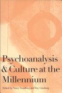 Psychoanalysis and Culture at the Millennium Pdf/ePub eBook