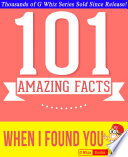 When I Found You - 101 Amazing Facts You Didn't Know Pdf/ePub eBook
