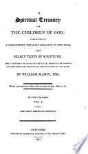 A Spiritual Treasury for the Children of God