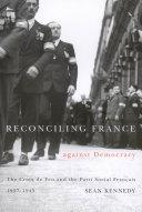Reconciling France Against Democracy [Pdf/ePub] eBook