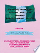 Challenging Issues And Accountability In Nigeria S Public Administration