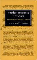Reader Response Criticism