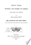 Young Folks  Pictures and Stories of Animals  Bees  butterflies  and other insects