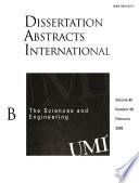 Dissertation Abstracts International