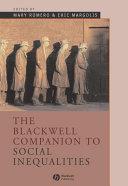 The Blackwell Companion to Social Inequalities