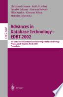 Advances In Database Technology Edbt 2002