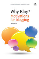 Why Blog? ebook
