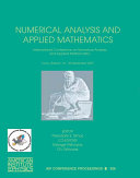 Numerical Analysis and Applied Mathematics
