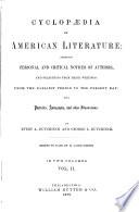 Cyclop  dia of American Literature