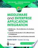 Middleware and Enterprise Application Integration