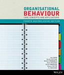 Cover of Organisational Behaviour Core Concepts & Applications 4e Australasian