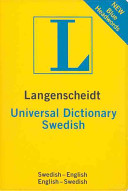 Langenscheidt Universal Swedish Dictionary