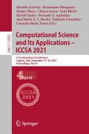 Computational Science and Its Applications – ICCSA 2021 Pdf/ePub eBook