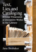 Pdf Text, Lies and Cataloging