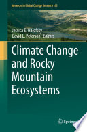 Climate Change and Rocky Mountain Ecosystems Book