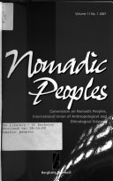 Nomadic Peoples Book PDF