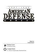 American Defense Annual  1987 1988