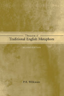 Thesaurus of Traditional English Metaphors