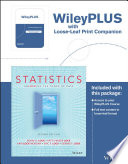 Statistics  Unlocking the Power of Data  Loose leaf Print Companion Book PDF
