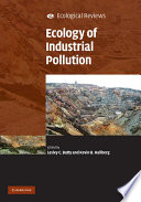 Ecology of Industrial Pollution Book
