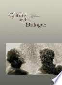 "Culture and Dialogue Vol.3, No. 2 (2013) Issue on ""Identity and Dialogue"""