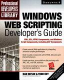 Windows Web Scripting Developer s Guide