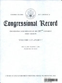 Congressional Record, V. 147, Pt. 7, May 22, 2001 to June 11 2001