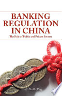 Banking Regulation In China Book PDF