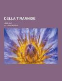 Della Tirannide; Libri Due
